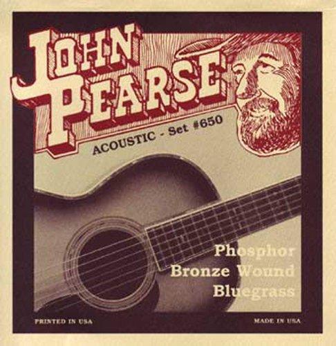 John Pearse 600l Jp Gitarre Saiten Light Phosphor Reibuin